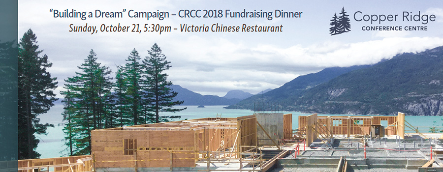 CRCC 2018 Fundraising Dinner - Click to order tickets online. October 21, 2018, 5:30 pm